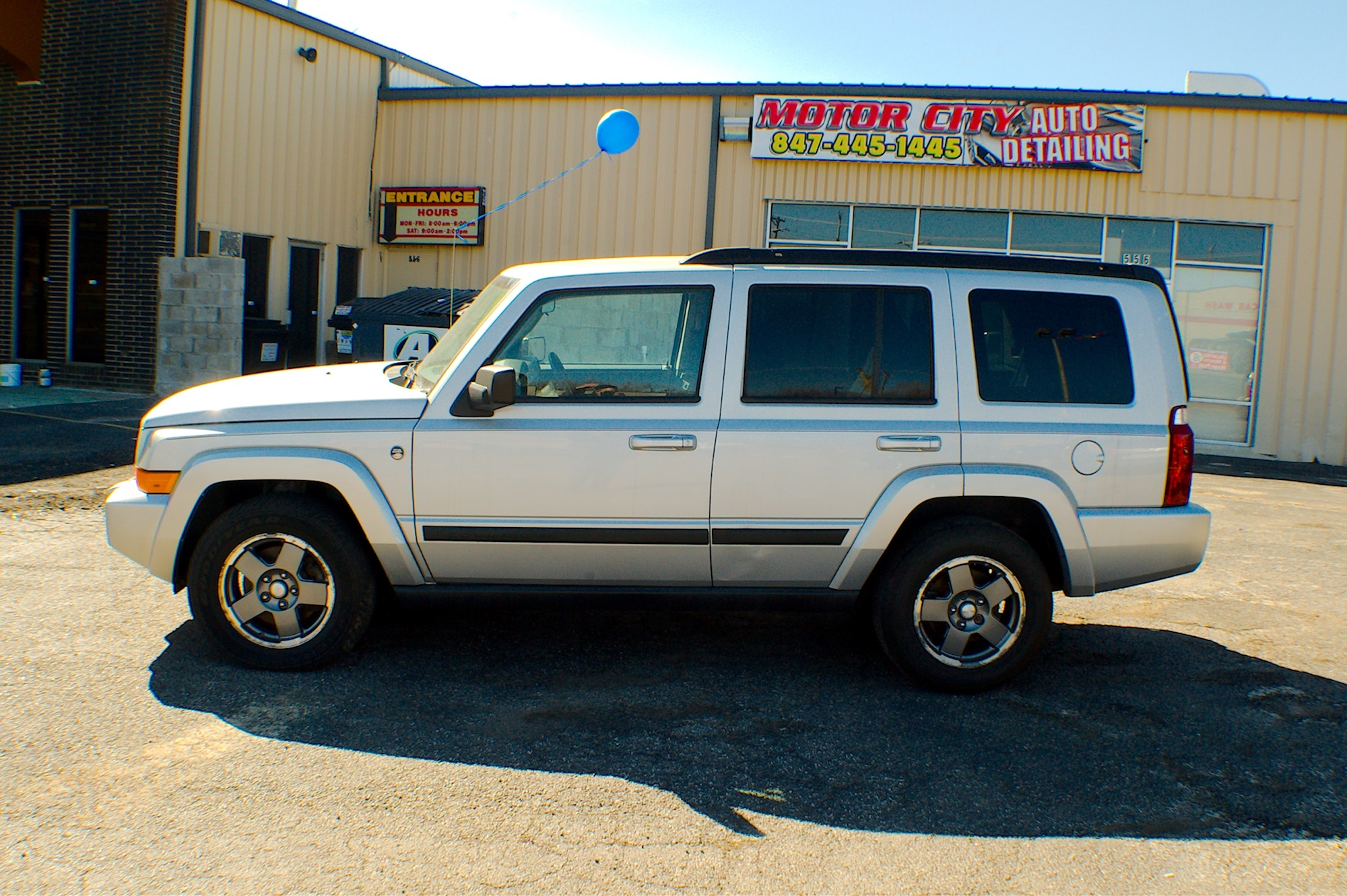 2007 Jeep Commander 4x4 Silver Flex fuel SUV Sale Bannockburn Barrington Beach Park
