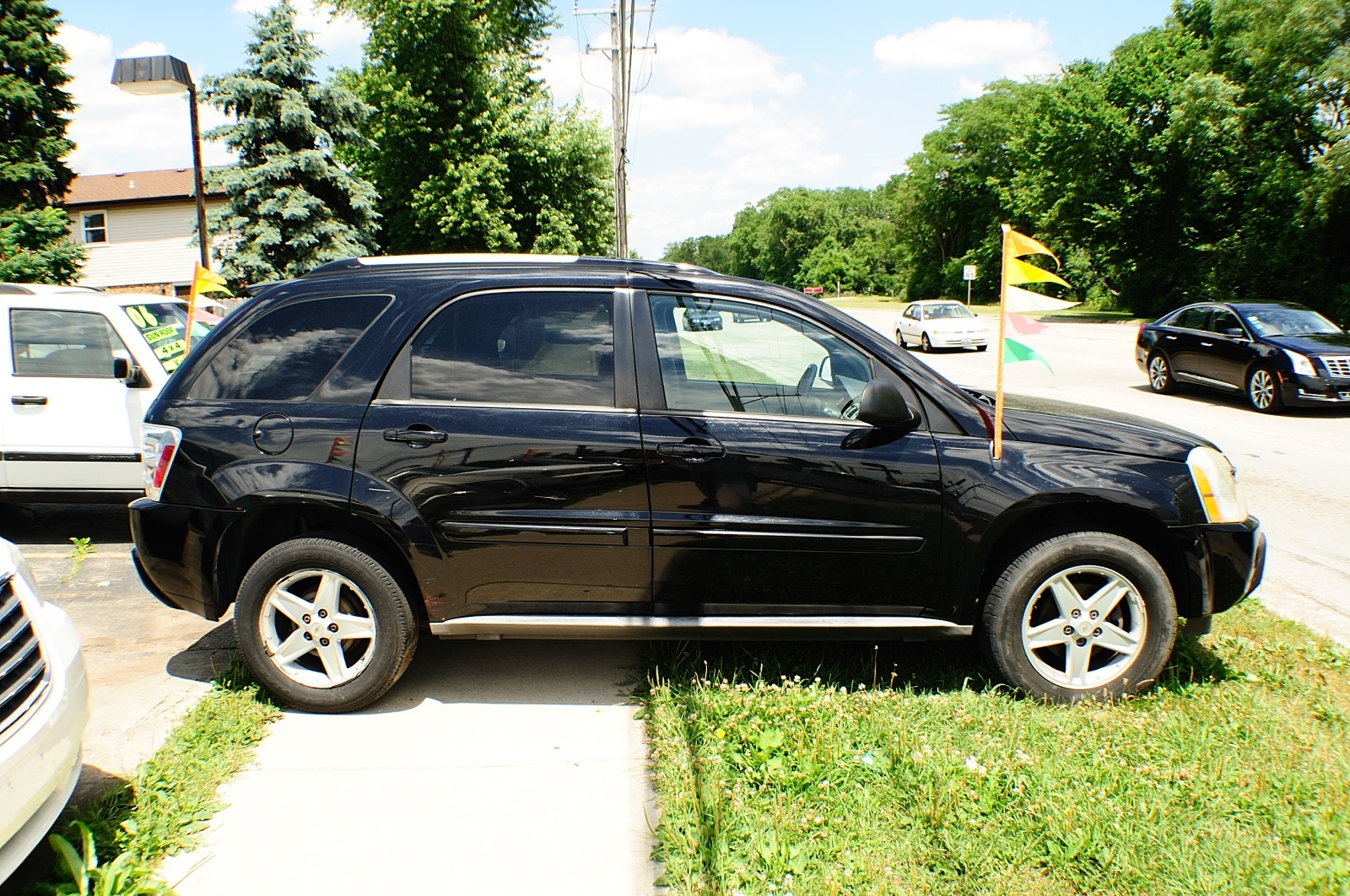 2005 Chevrolet Equinox LT Black AWD Used SUV Sale Downers Grove Carpentersville Cicero Oak Park