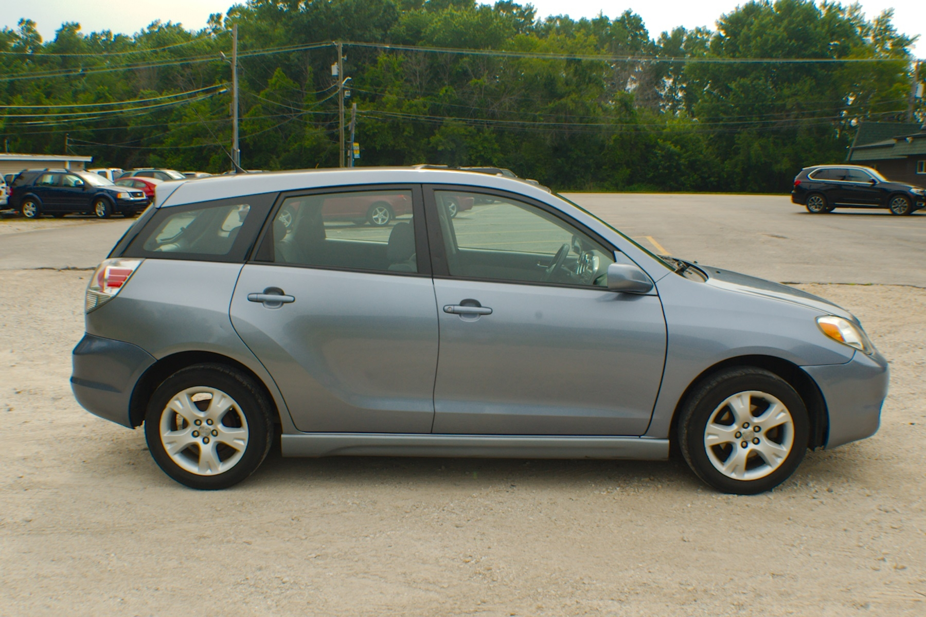 2006 Toyota Matrix Blue Manual Sedan Used Wagon Sale Bannockburn Barrington Beach Park