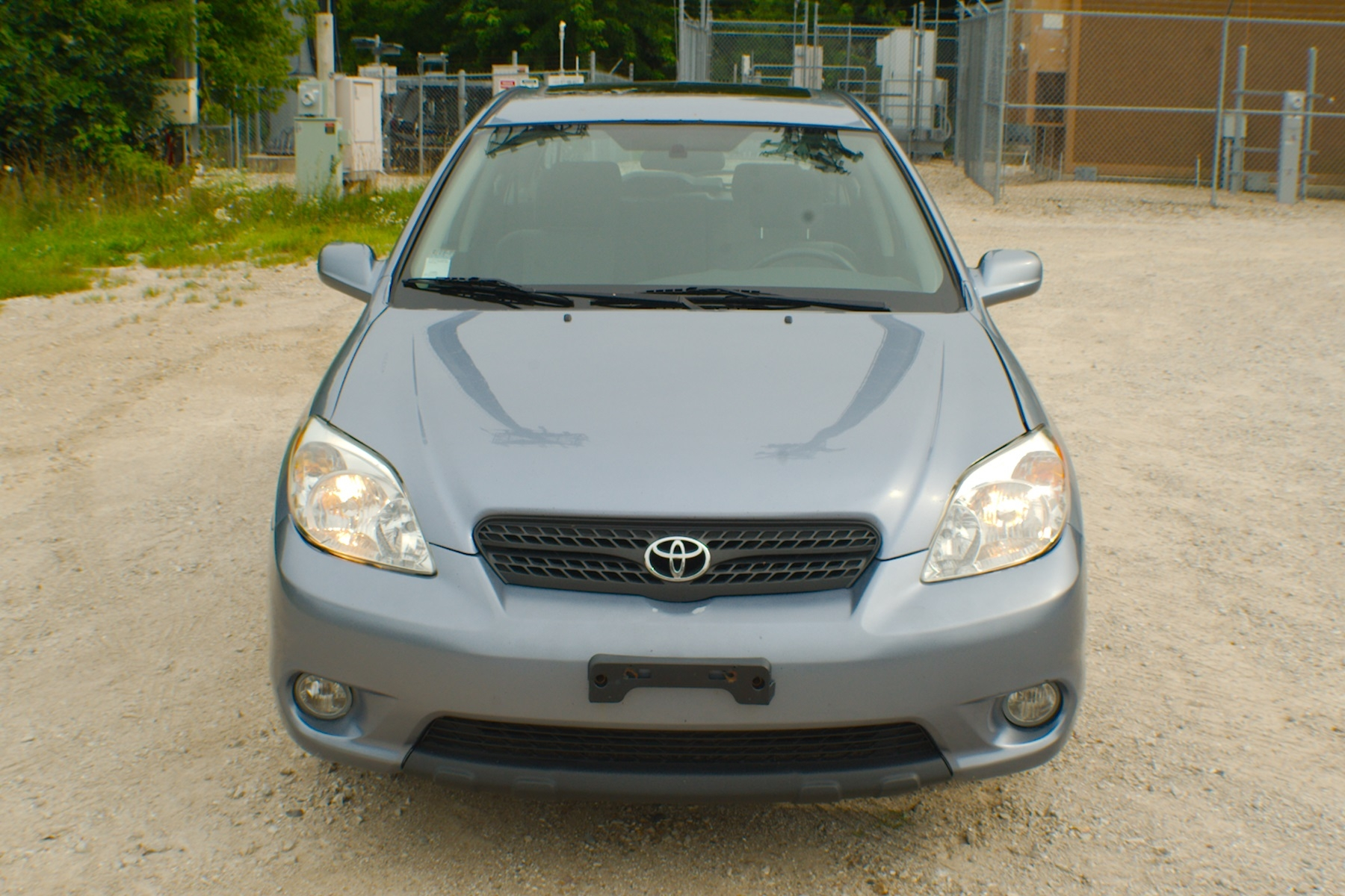 2006 Toyota Matrix Blue Manual Sedan Used Wagon Sale Gurnee Kenosha Mchenry Chicago Illinois