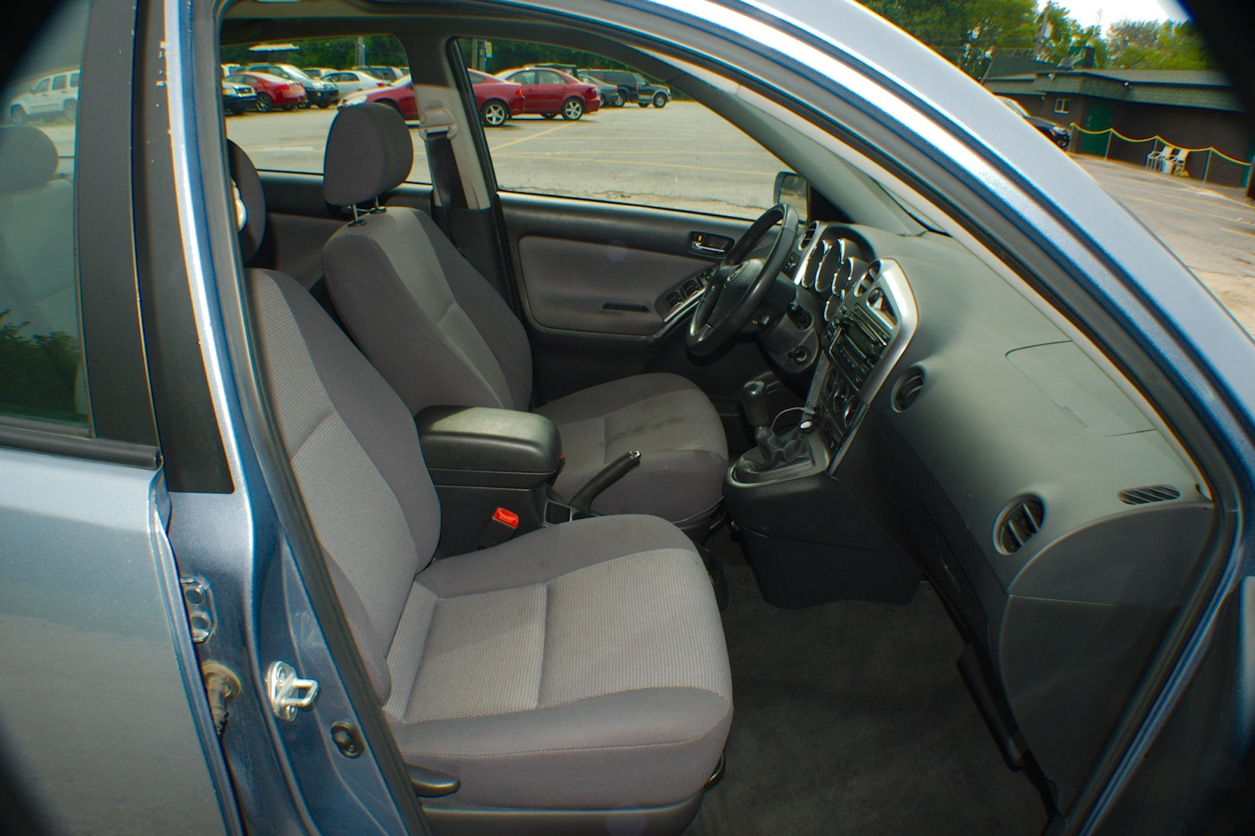 2006 Toyota Matrix Blue Manual Sedan Used Wagon Sale Lake Villa Lake Zurich Lakemoor Milwaukee