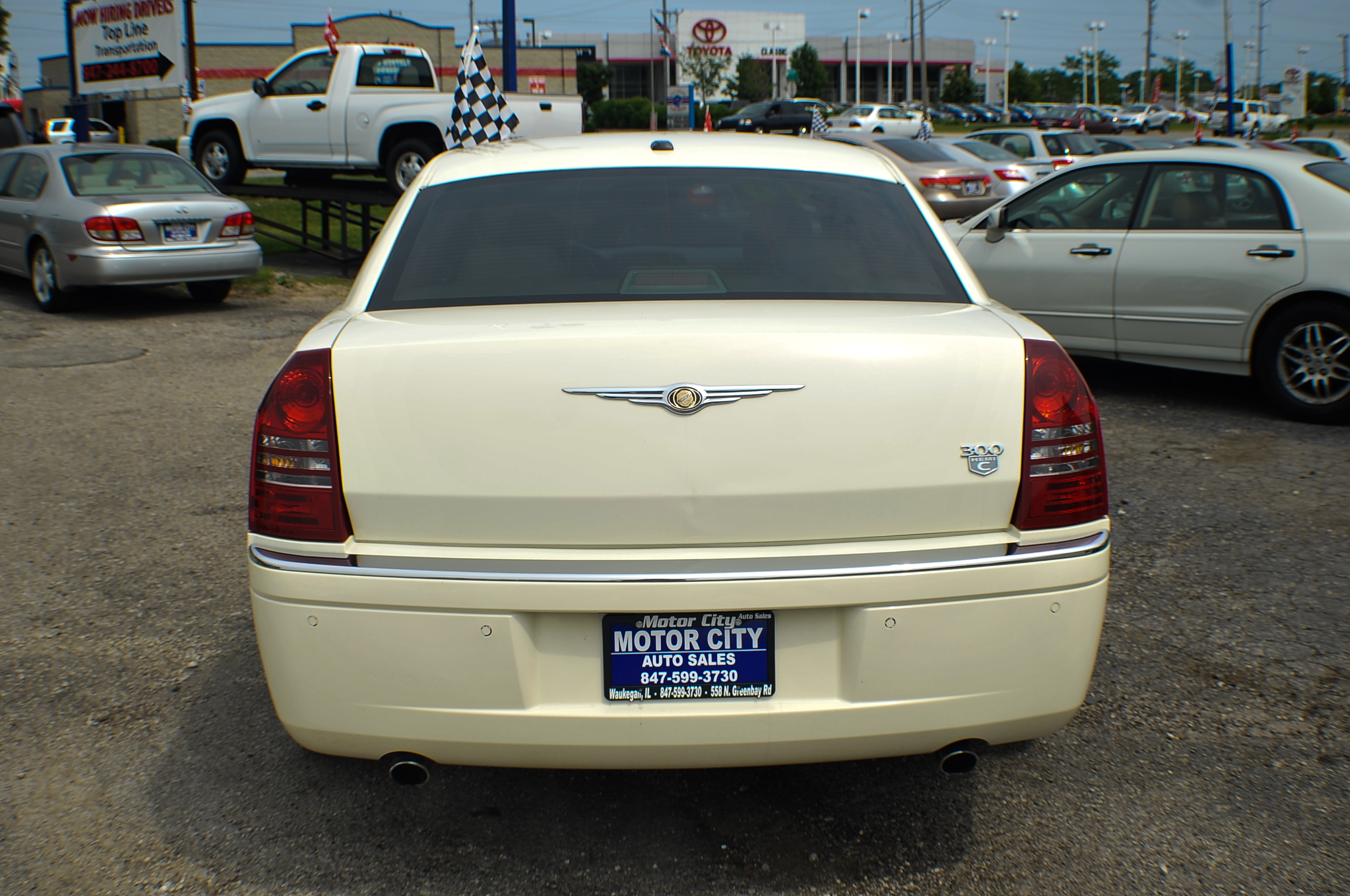 2006 Chrysler 300C Hemi Navigation White Sports Sedan Used Car Sale Beach Park