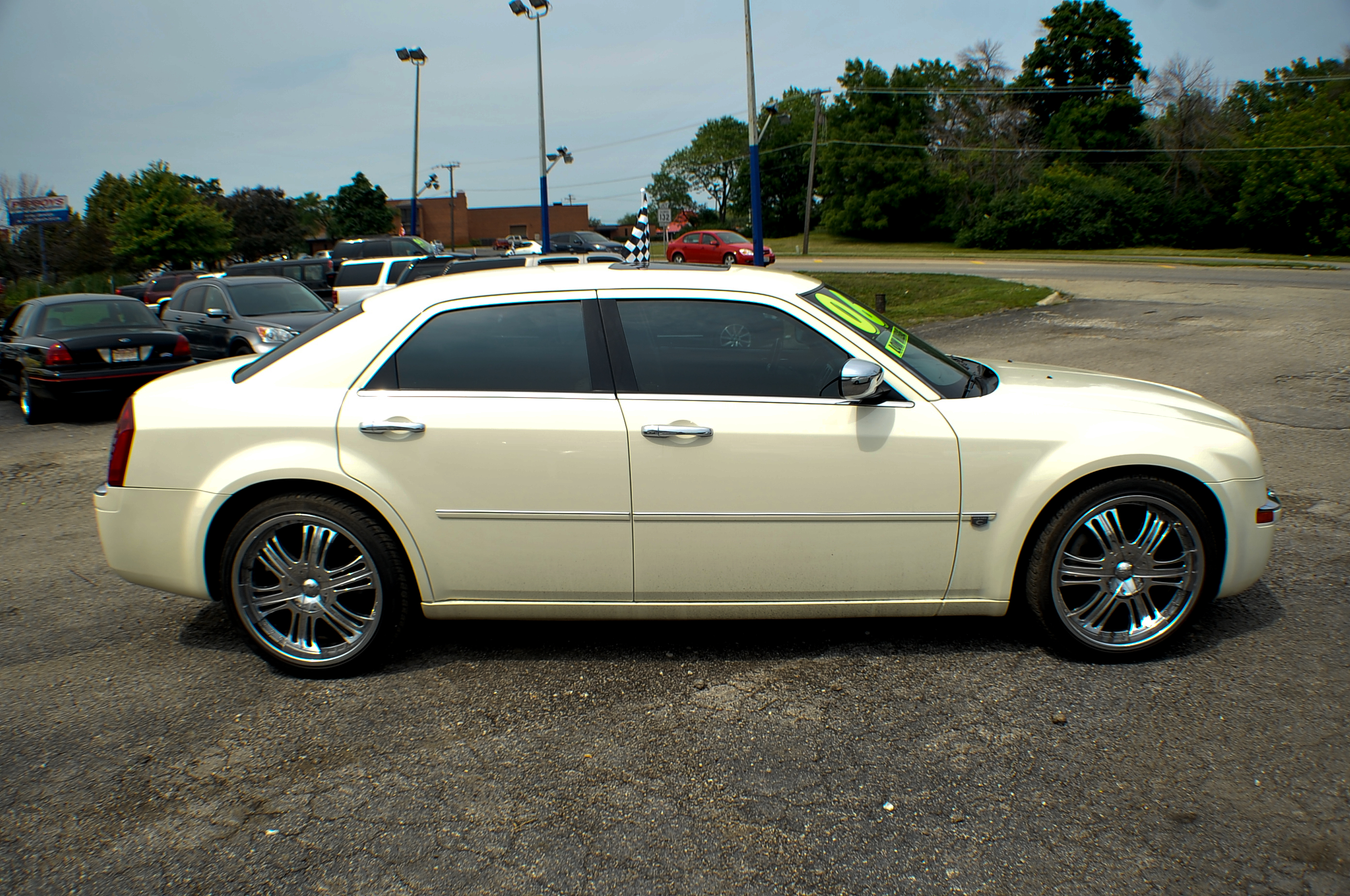 2006 Chrysler 300C Hemi Navigation White Sports Sedan Used Car Sale Libertyville