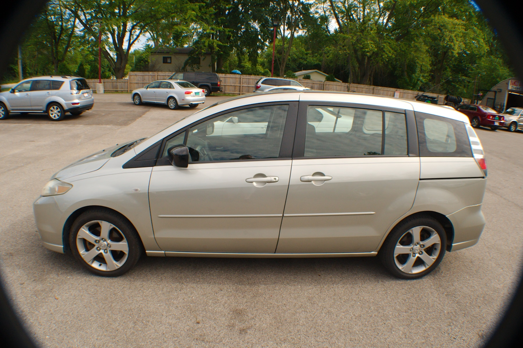 2006 Mazda 5 Pewter Compact Used Wagon Sale Antioch Zion Waukegan Lake County Illinois