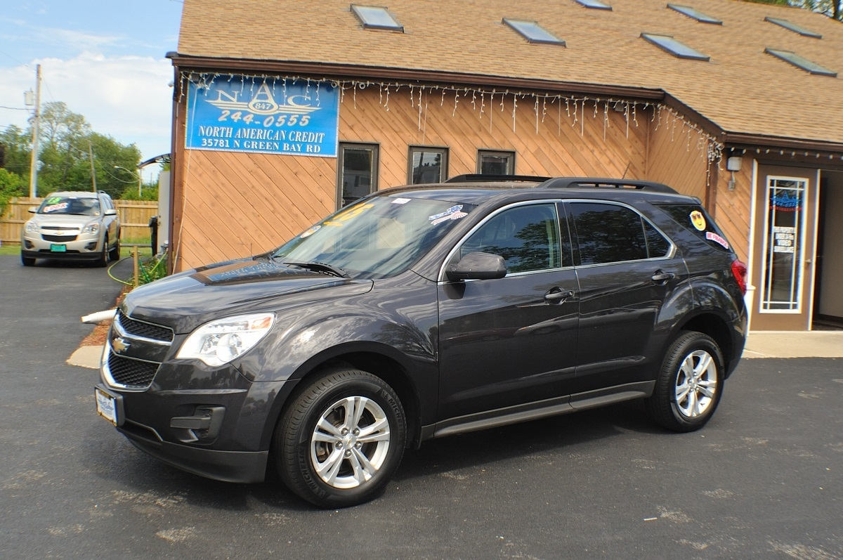 2015 Chevrolet Equinox LT Gray AWD used SUV Sale Antioch Zion Waukegan Lake County Illinois