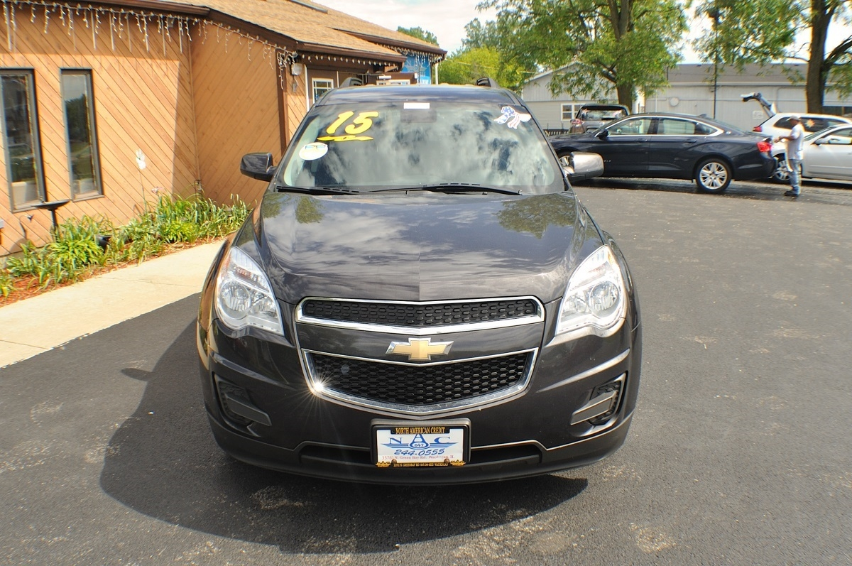 2015 Chevrolet Equinox LT Gray AWD used SUV Sale Gurnee Kenosha Mchenry Chicago Illinois
