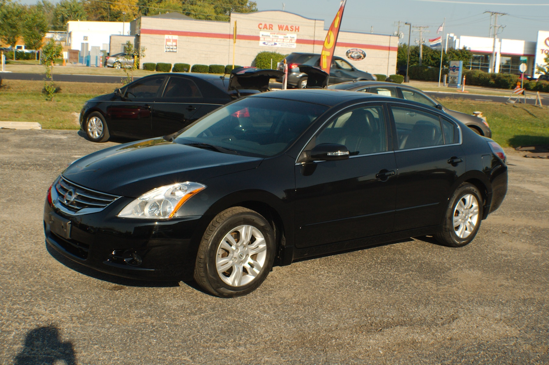 2010 Nissan Altima SL Black Sedan Used Car Sale Antioch Zion Waukegan Lake County Illinois