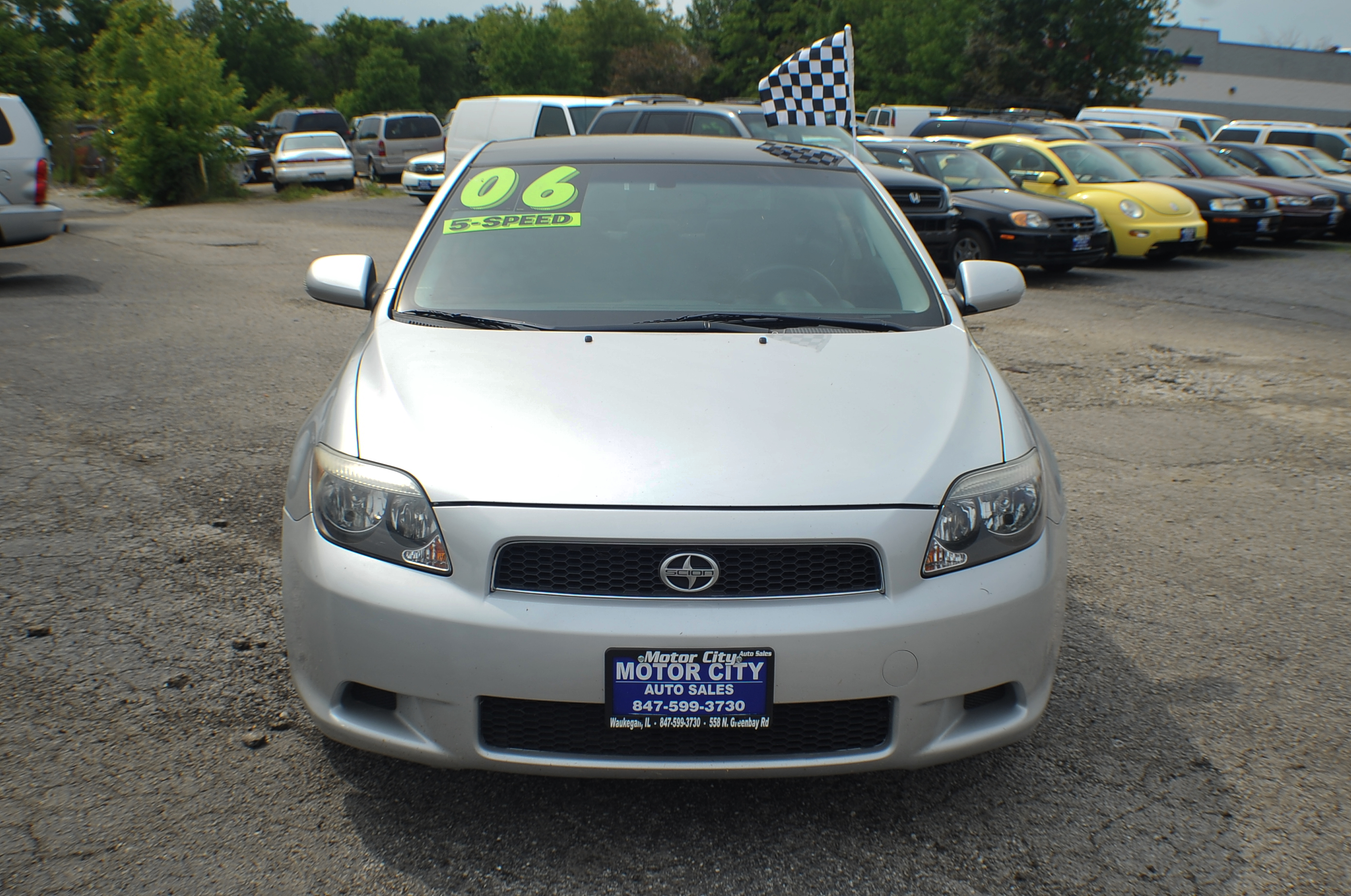 2006 Scion TC Manual Shift Coupe Used Car Sale Libertyville Beach Park