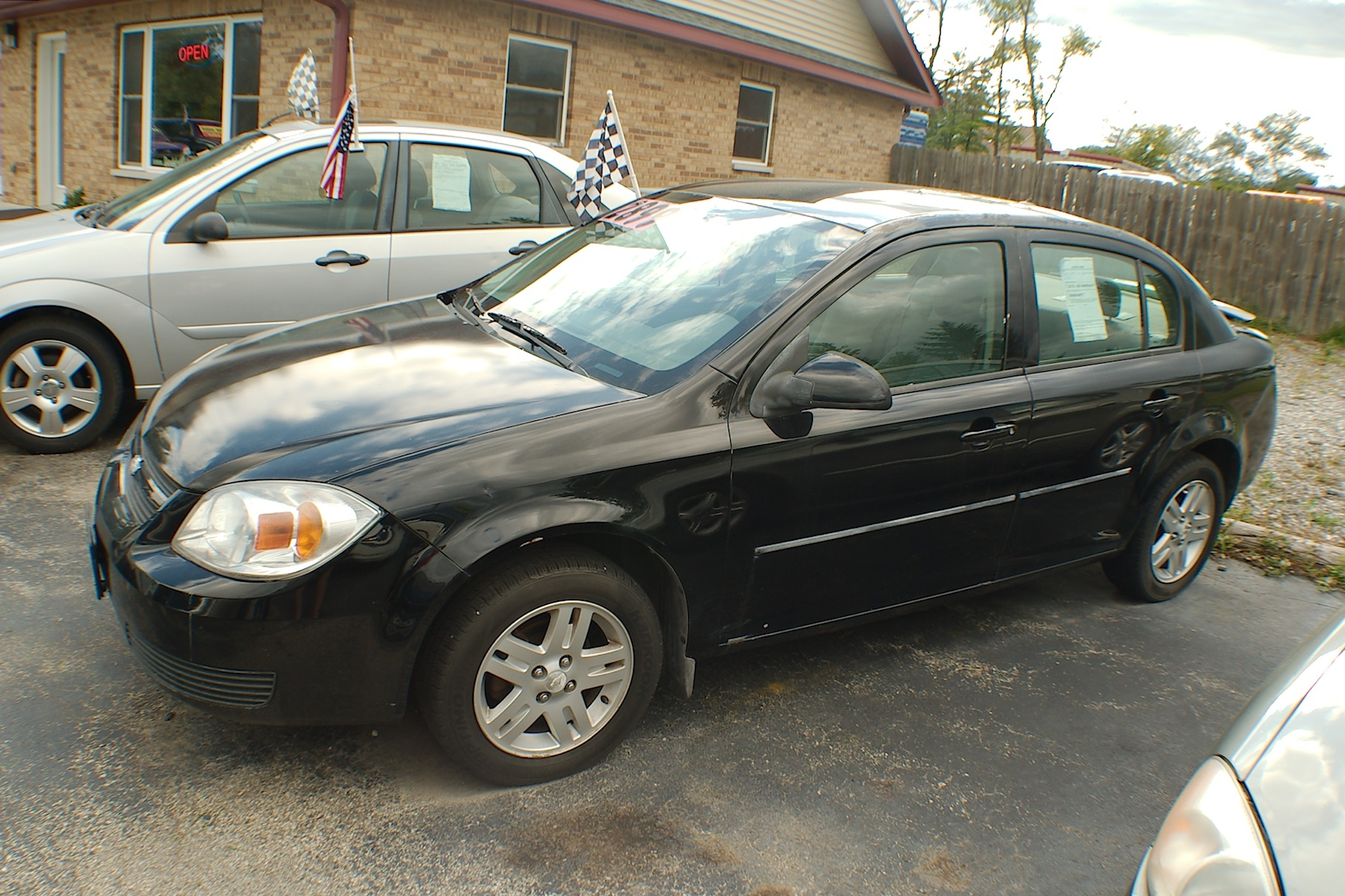 2005 Chevrolet Cobalt LS Black Sedan Used Car Sale Antioch Zion Waukegan Lake County Illinois