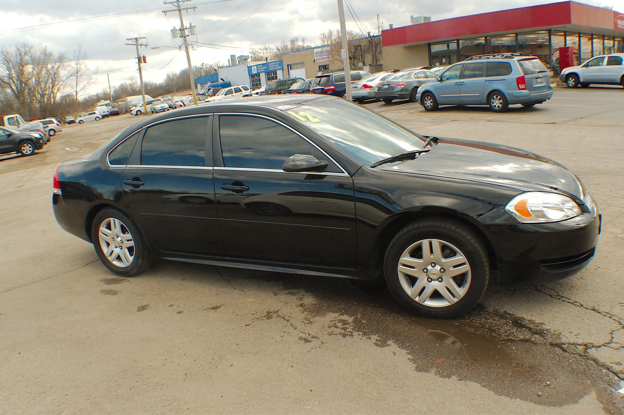 2012 Chevrolet Impala LT Black Flex Fuel Sedan Sale Bannockburn Barrington Beach Park