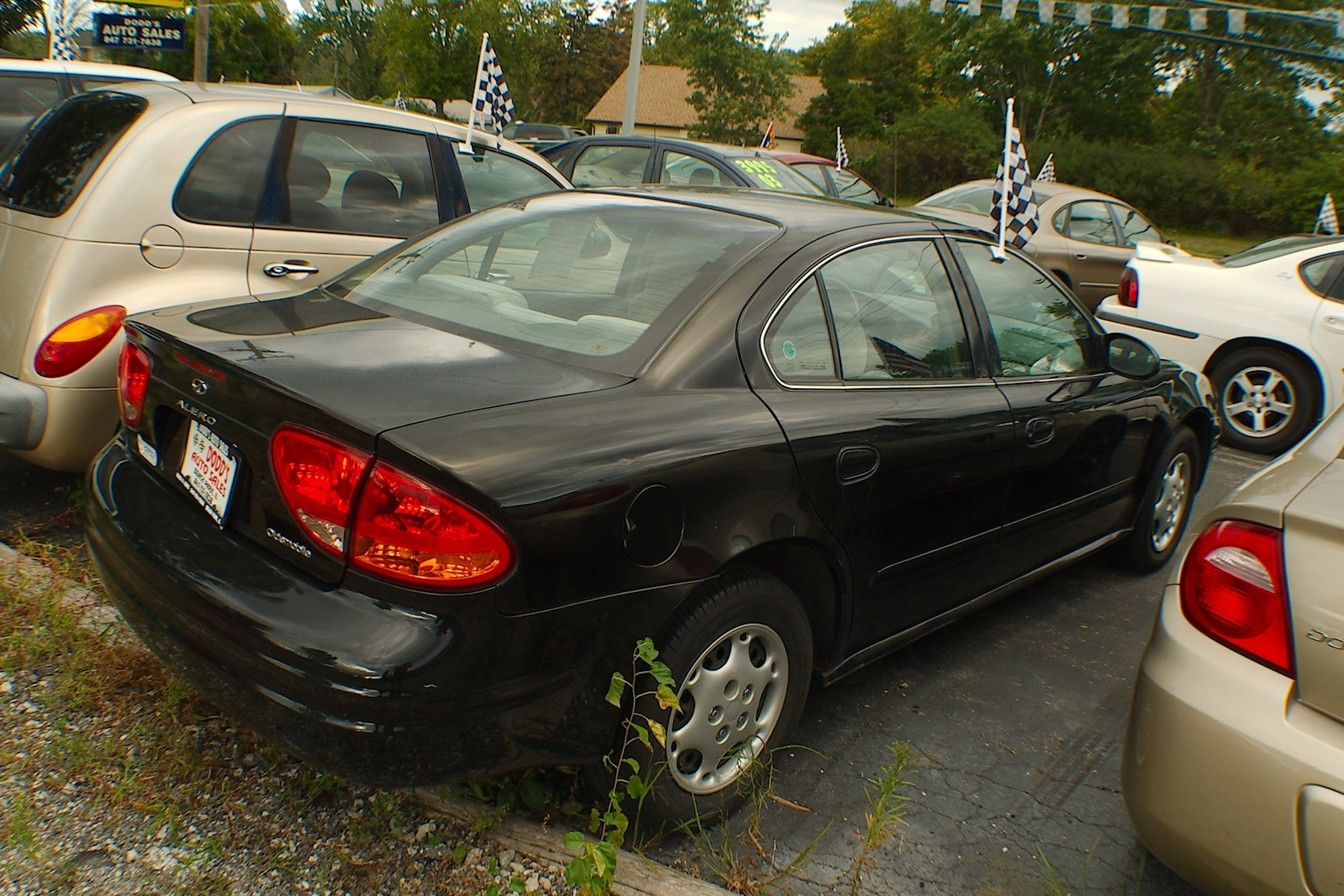 2001 Oldsmobile Alero Black Sedan Used Car Sale Bannockburn Barrington Beach Park