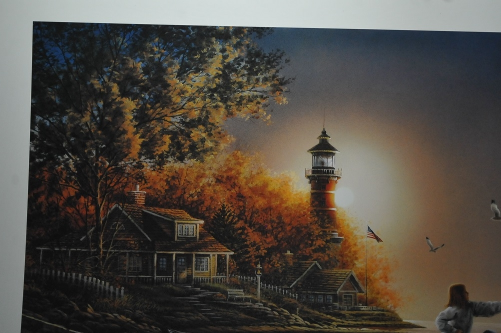 sea shinning sea terry redlin art print sale collectible artwork