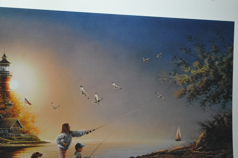 sea shinning sea terry redlin art print sale rare art store