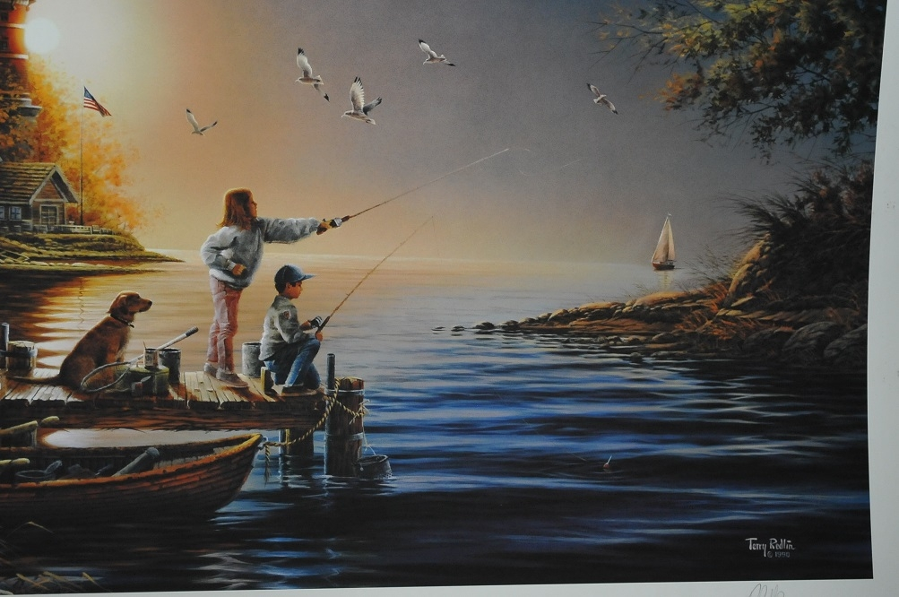 sea shinning sea terry redlin art print sale online art store