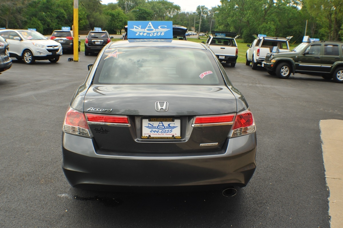 2011 Honda Accord Gray Special Edition Used Sedan Buffalo Grove Deerfield Fox Lake Antioch