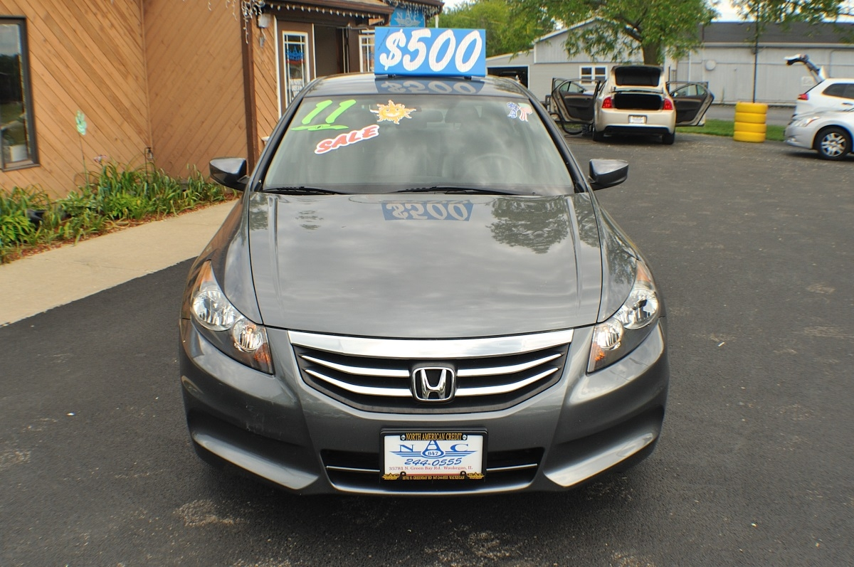 2011 Honda Accord Gray Special Edition Used Sedan Gurnee Kenosha Mchenry Chicago Illinois