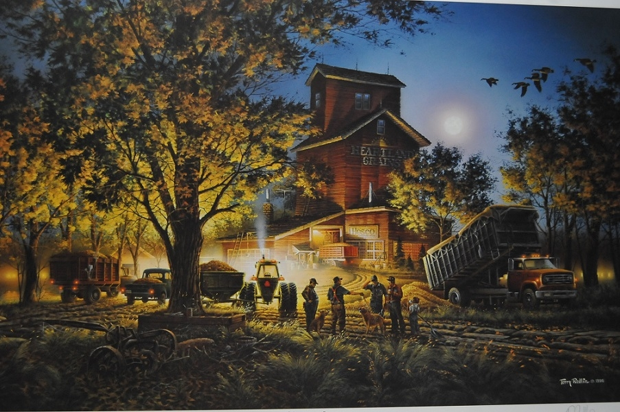 Terry Redlin Bountiful Harvest Artist Print Sale redlin collection