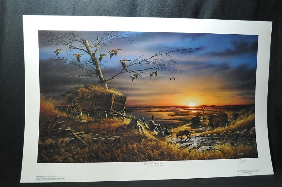 Terry Redlin Lifetime Companions Artist Signed Numbered art Print sale