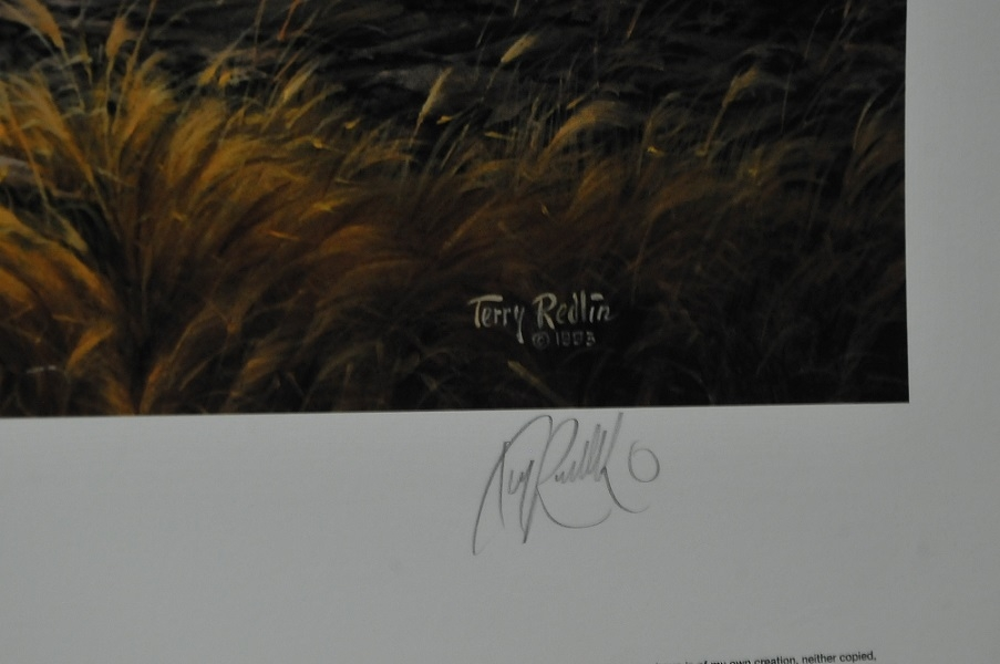 Terry Redlin Lifetime Companions Artist Signed Print sale cheap