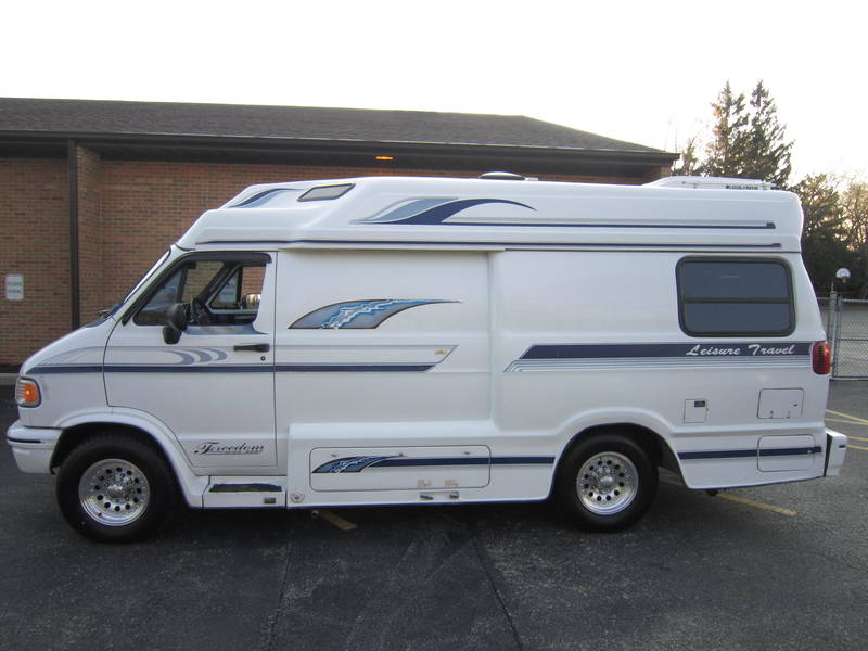 1996 Leisure Travel Freedom ll Wide Body Dodge Used RV Sale