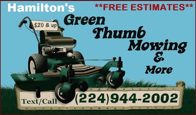 Hamiltons Mowing Service