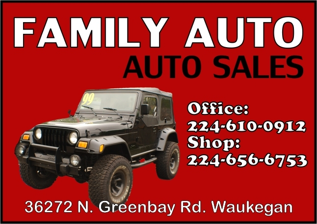 Family Auto Used Car Vehicle Sales Waukegan Illinois 60085