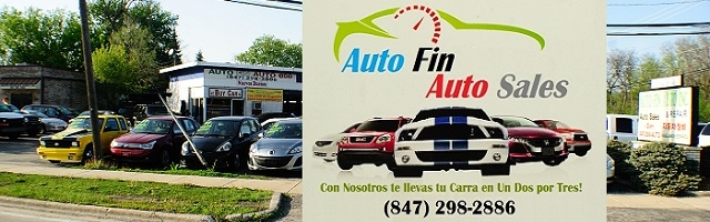 Auto Fin Used Car sale Morton Grove Illinois car truck vehicle sales