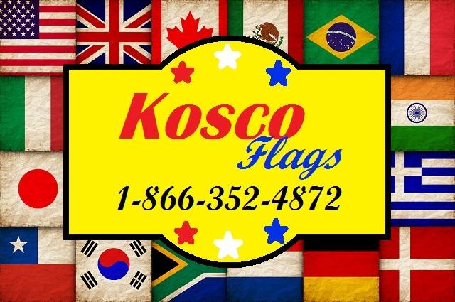 Kosco Flags flag pole installation country state flags sale