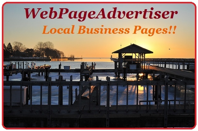 Web Page Advertiser online local business advertising site design